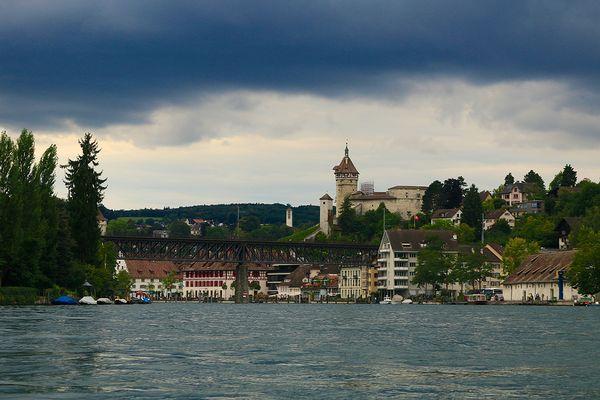 Rheinperspektive von Schaffhausen