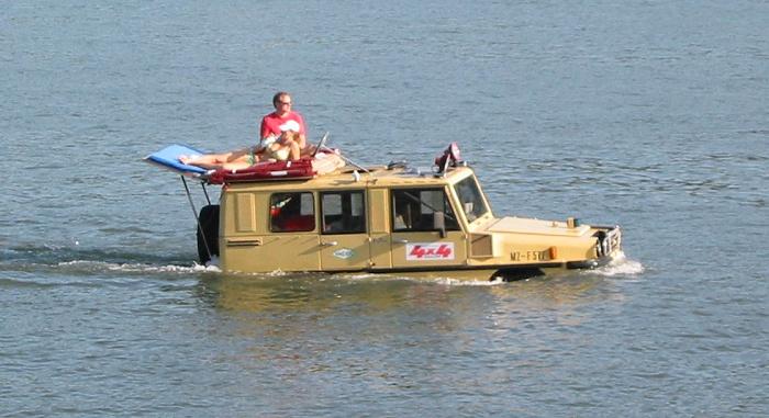 Rheinschifffahrt mal anders...