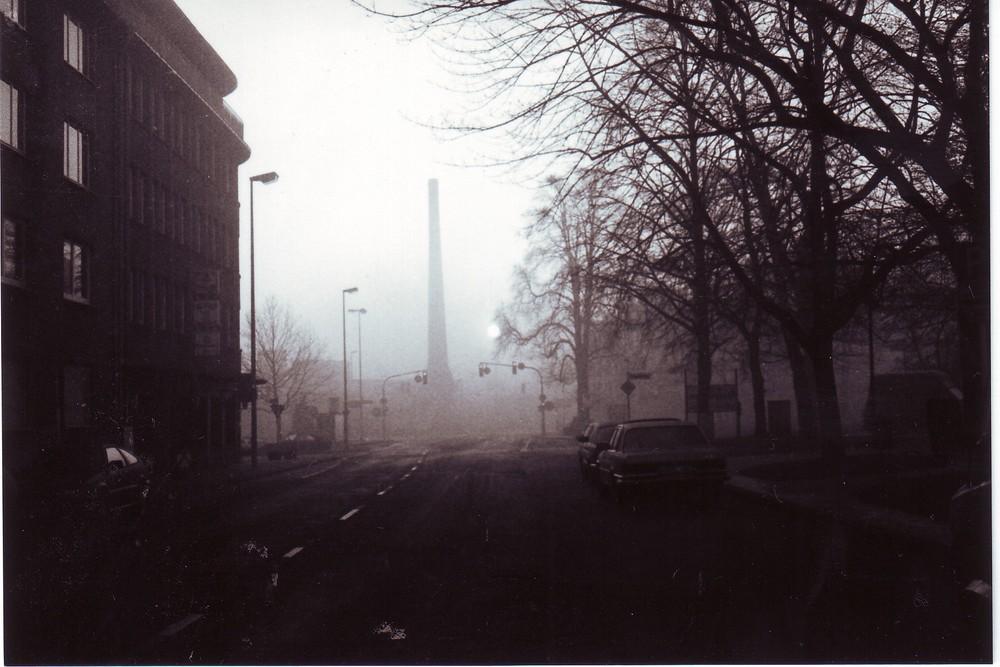Rheydt, Morgens im Nebel