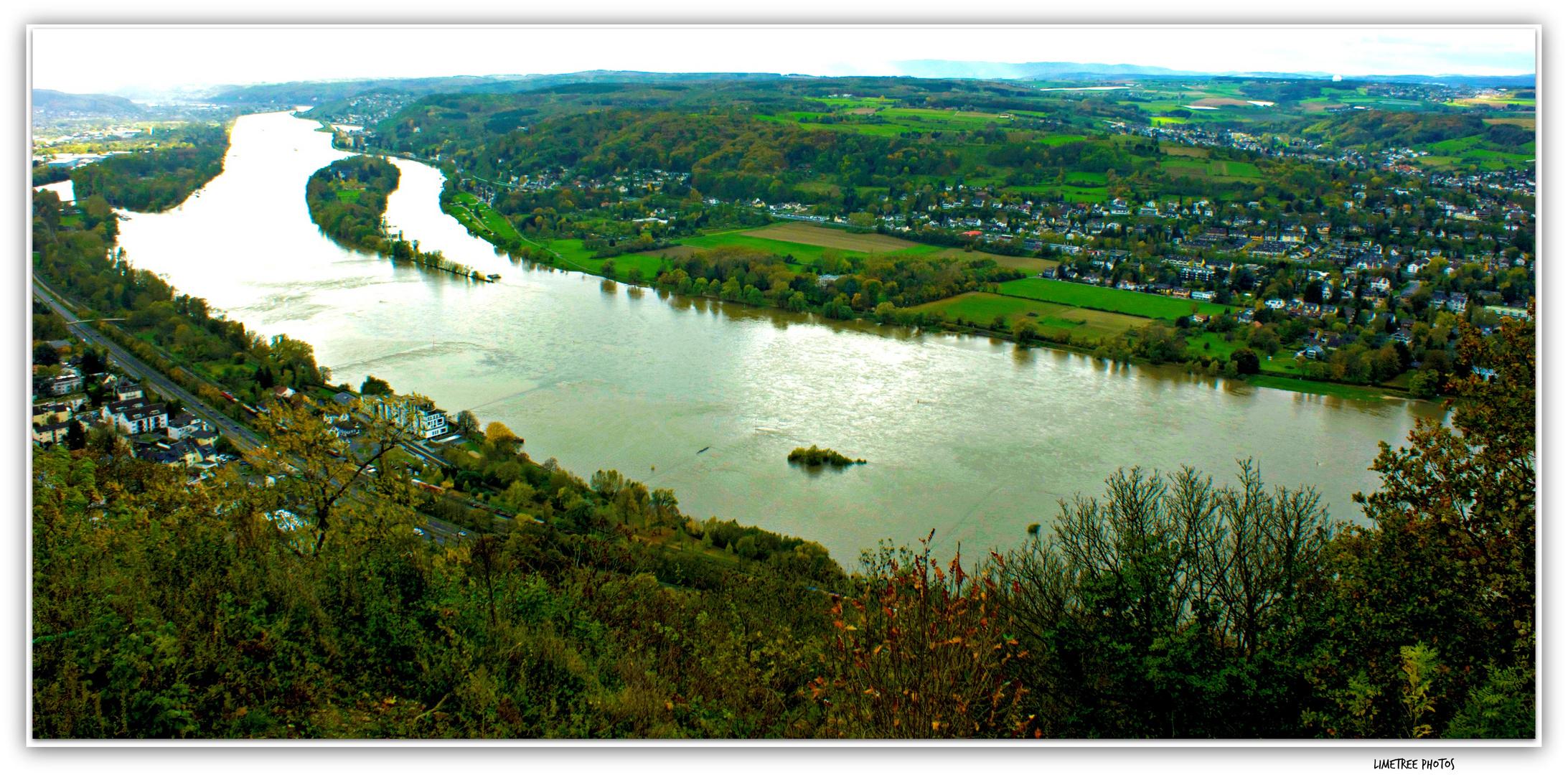 Rhine River and Koenigswinter