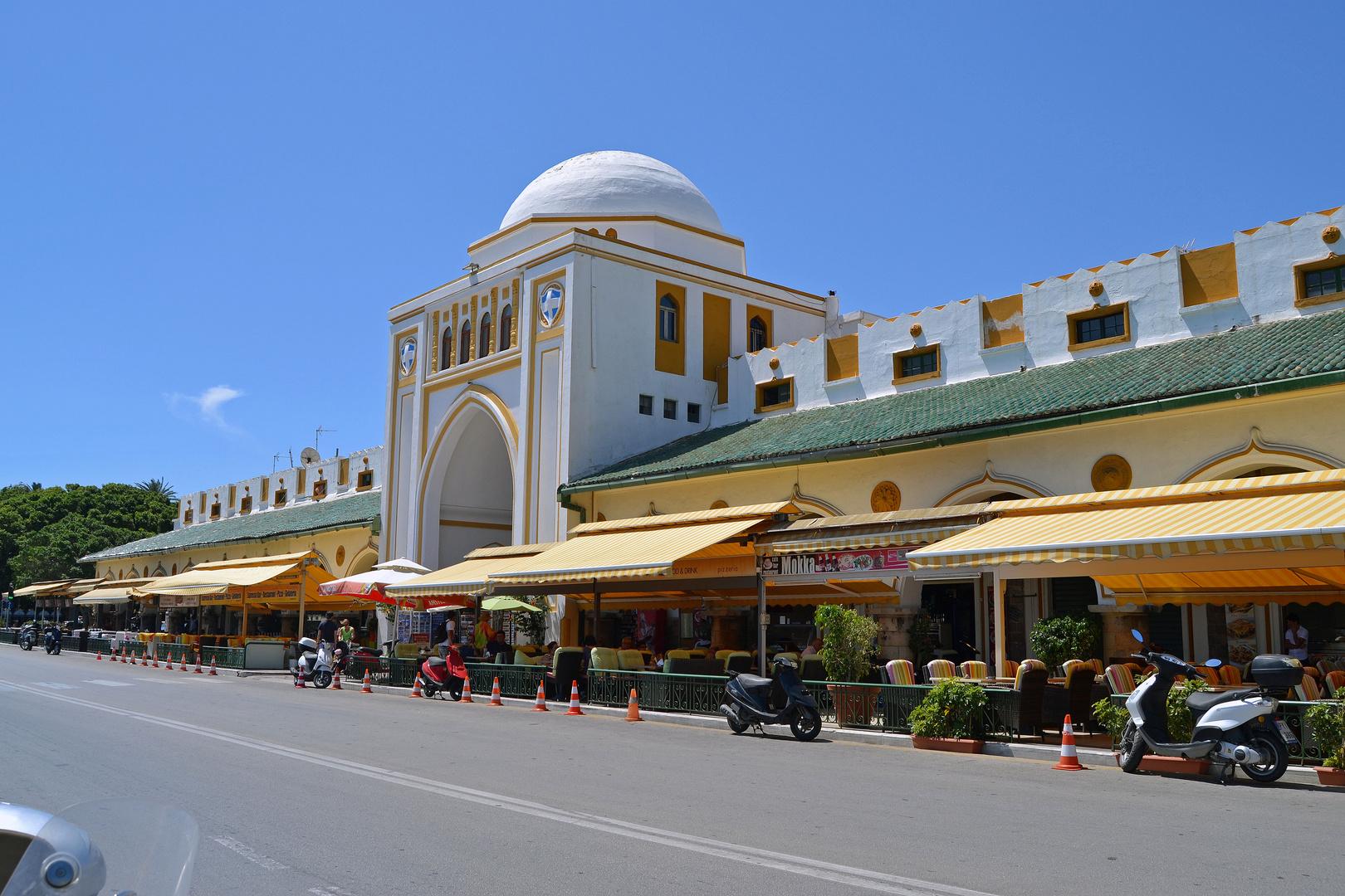 Rhodos-Stadt 1, Neuer Markt