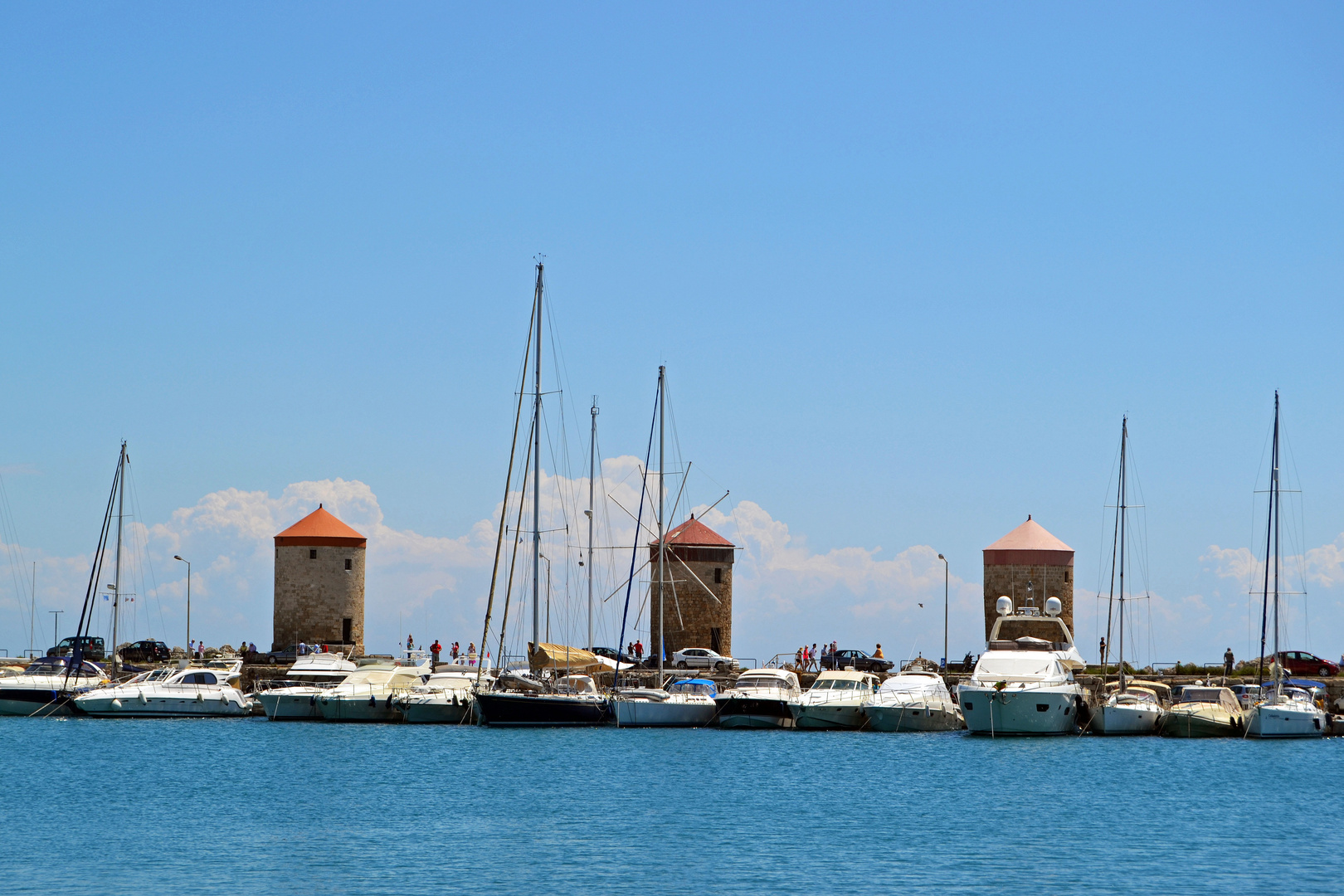 Rhodos-Stadt 10, der Hafen