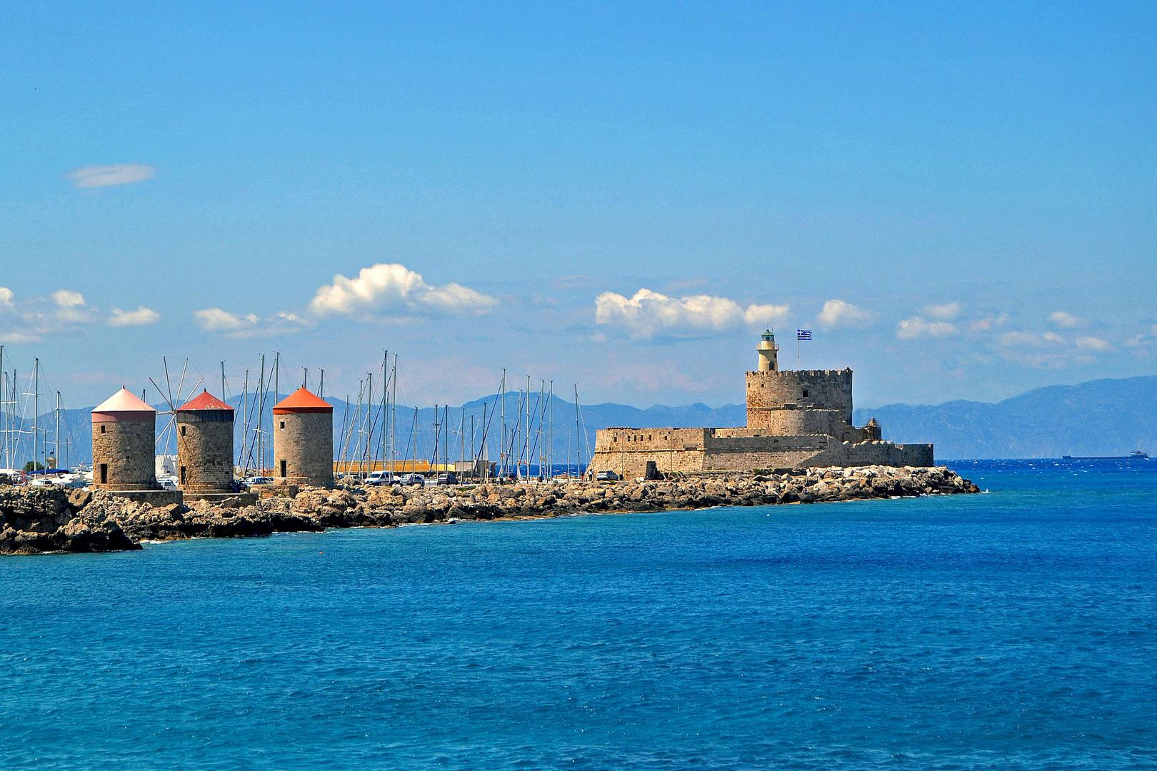 Rhodos Stadt 11, der Hafen