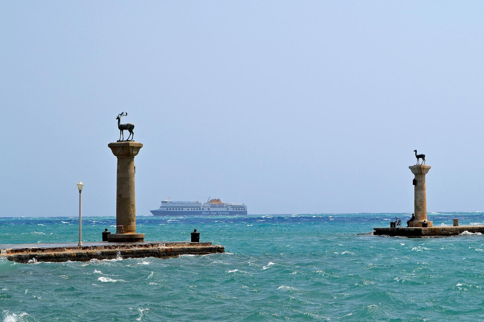 Rhodos-Stadt 4, der Hafen
