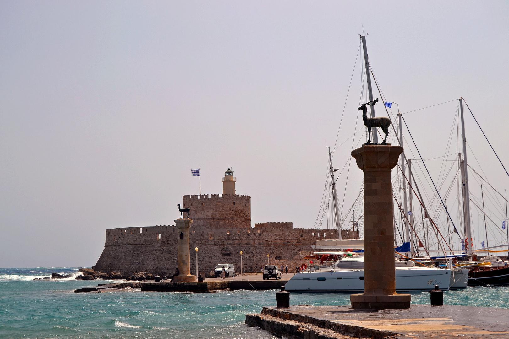 Rhodos-Stadt 5, der Hafen