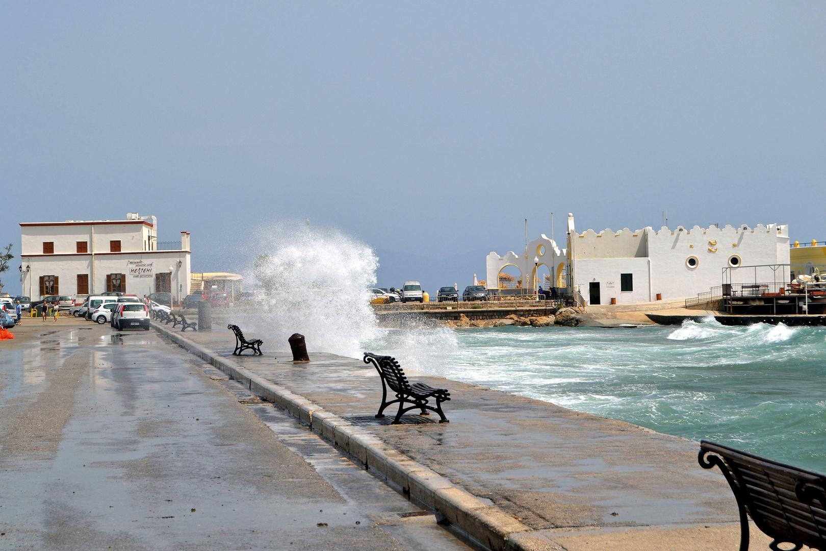 Rhodos Stadt 8b, der Hafen