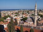 Rhodos-Stadt von oben