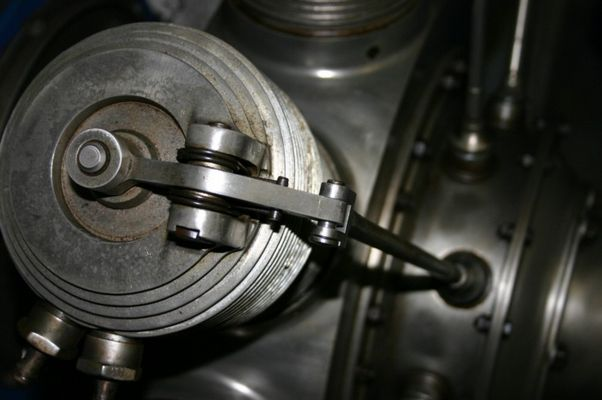 Rhône 9c Sternmotor