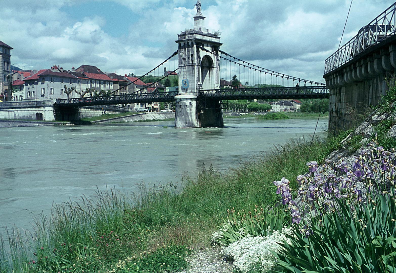 Rhone - Brücke Seyssel
