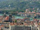 Rhônetal: Vienne: Die Kathedrale und die Rhône