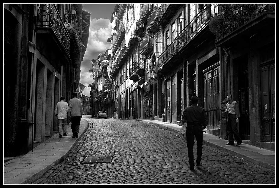 Ribeira - die Altstadt in Porto