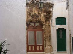 Ricco portale ad Ostuni