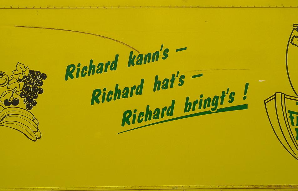 Richard: Melde Dich :-)