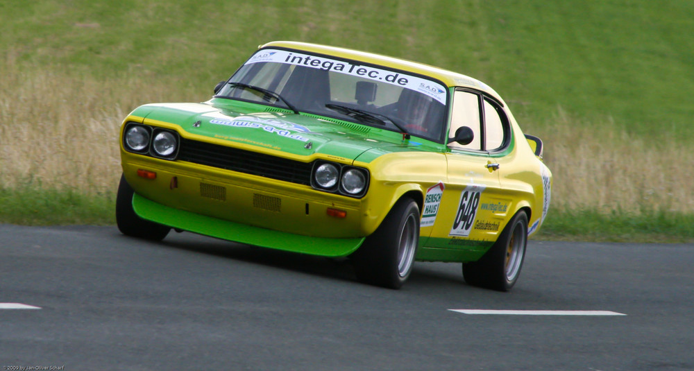 richard rein auf ford capri 2600 rs am hauenstein 2009 foto bild sport motorsport. Black Bedroom Furniture Sets. Home Design Ideas