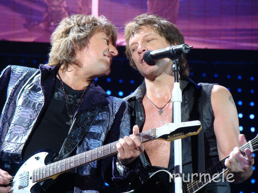 Richie Sambora + Jon Bon Jovi