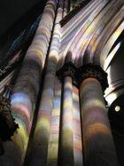 Richter-Fenster Spiegelung im Kölner Dom