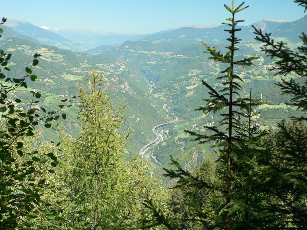 Richtung Brenner