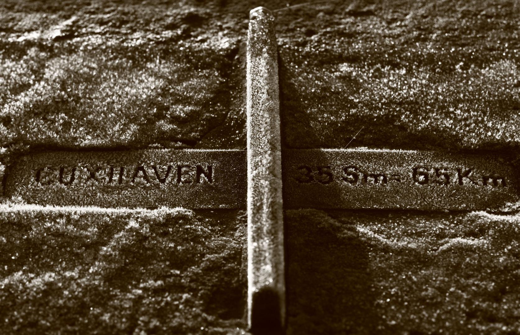 Richtung Cuxhaven
