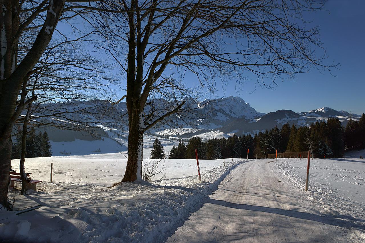 Richtung hoher Hirschberg