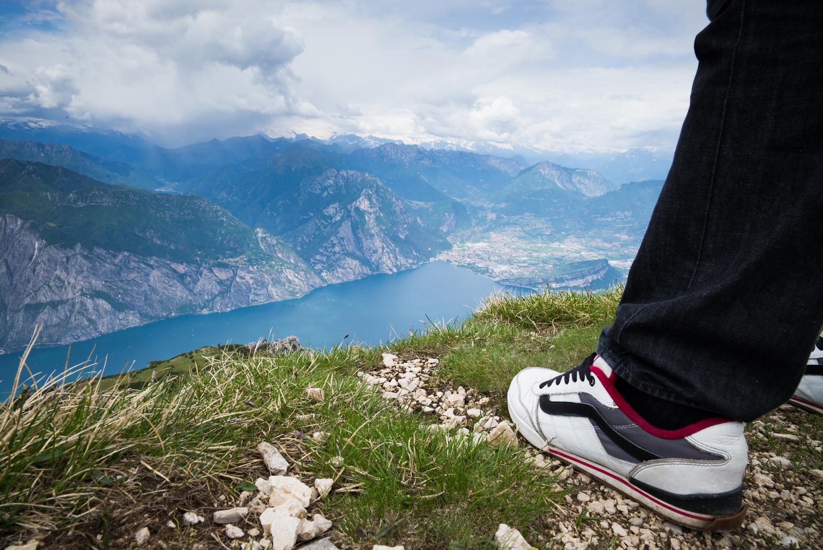 Richtung Riva vom Monte Altissimo