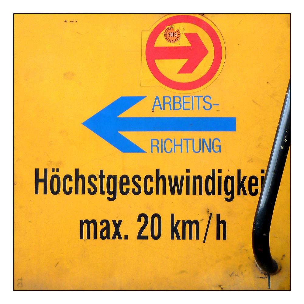 """Richtungs-Wechsel"""