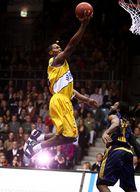 Rickey Paulding (EWE Baskets) im Anflug