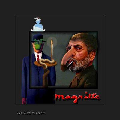 """ Ricordando Magritte """