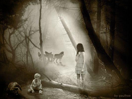 Ricordo di Paolo Zappa - Non andare nel bosco di sera... non si sa mai!