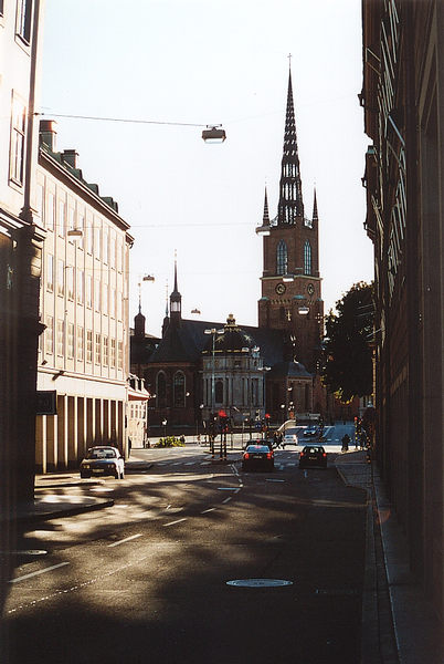 Riddarholmskyrka in Stockholm