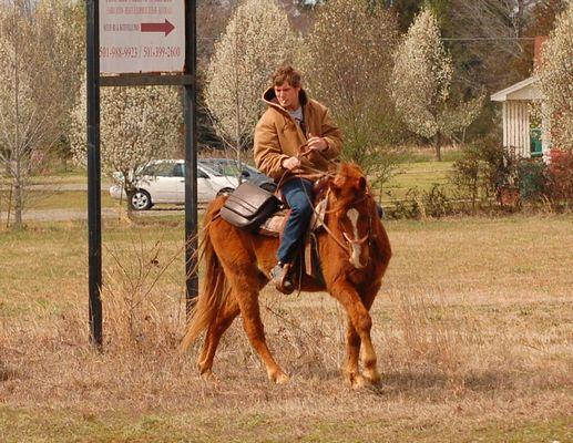 Ride on cowboy
