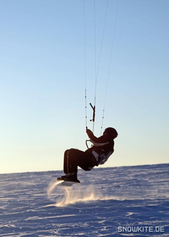 Ride the Wave: Snowkiting Wasserkuppe