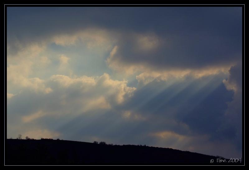 Rideau de lumière...