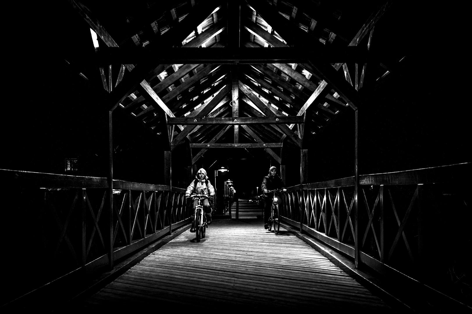 riders in the dark