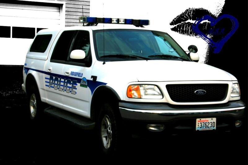 Ridgefield's police car