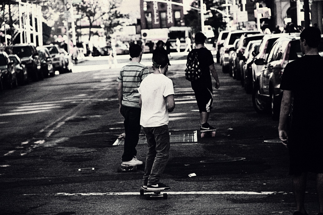 riding the streets