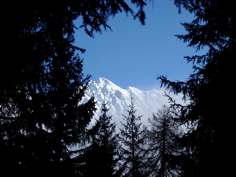 Ridnauntal bei Schnee
