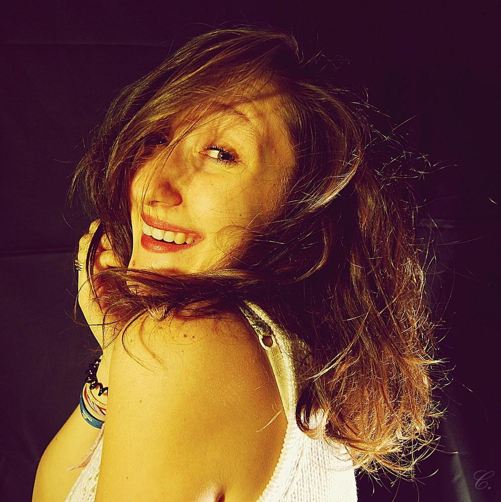 Rien ne vaut un sourire.