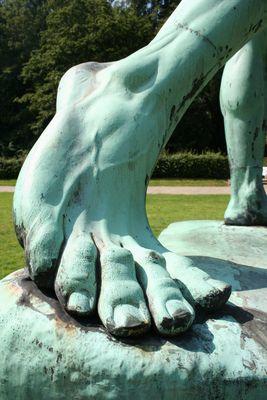 Riesen Fuß