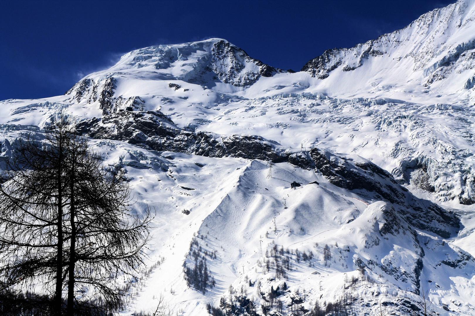 Riesen Gletscher (Saas Fee)