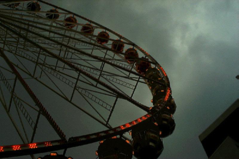 Riesen-Regen-Rad