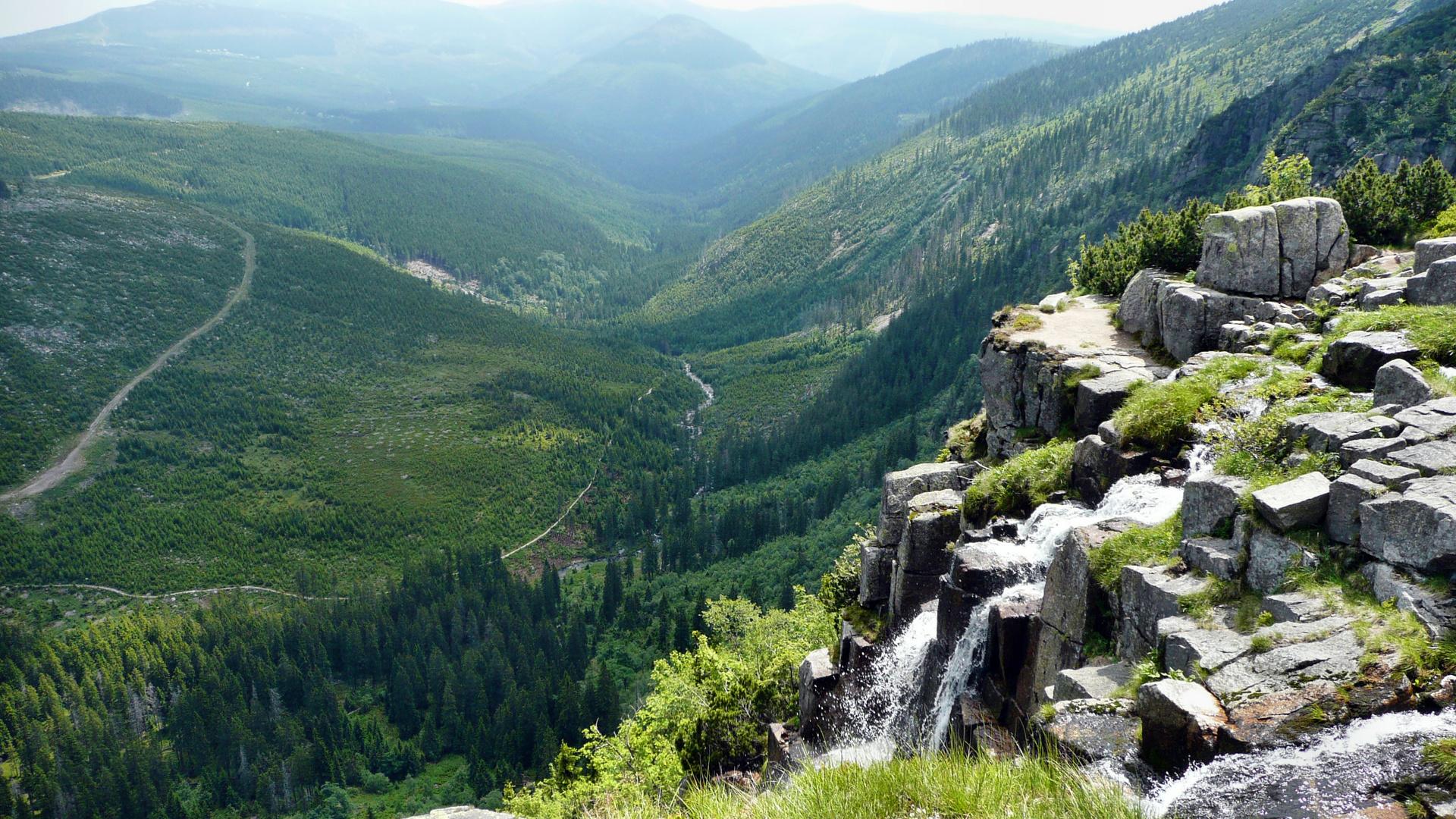 Riesengebirge-Auf der böhmischen Seite
