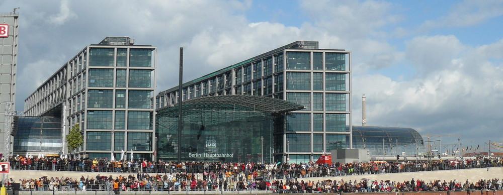 Riesenmarionetten in Berlin