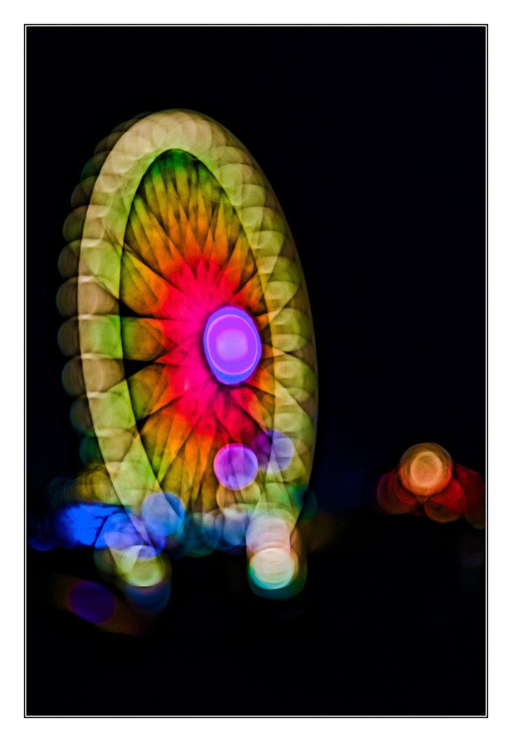 Riesenrad abstrakt II