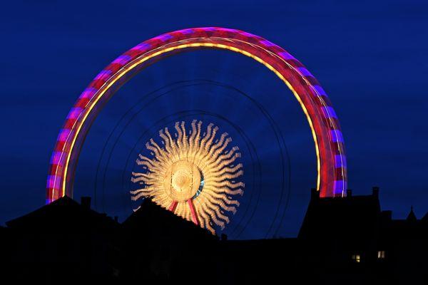 Riesenrad auf der Basler Herbstmesse