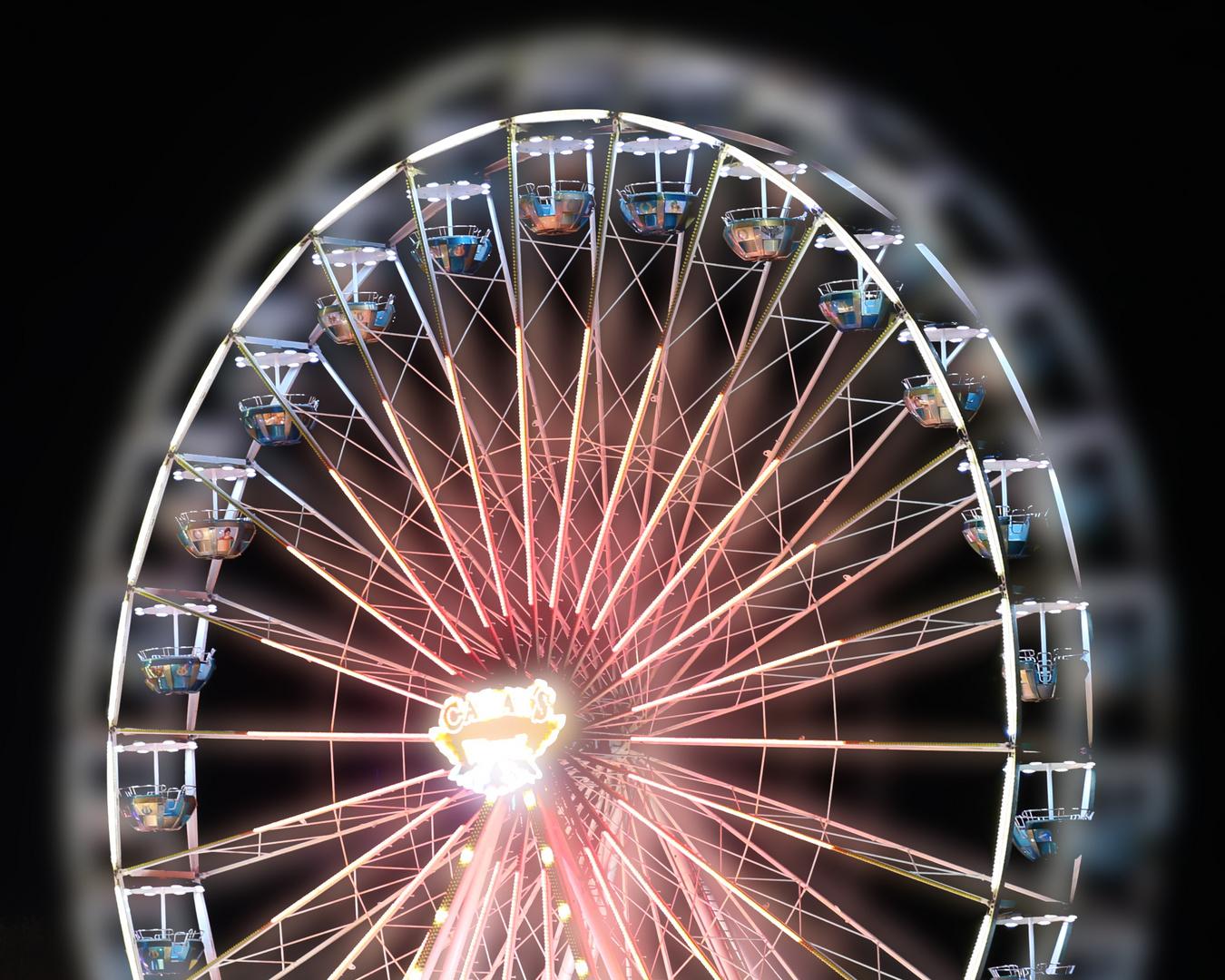 Riesenrad auf der Karlsruher Mess