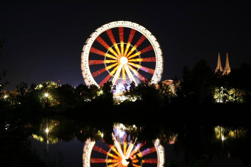 Riesenrad bei Nacht_2