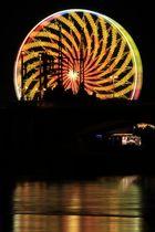 Riesenrad-Farbspiele I