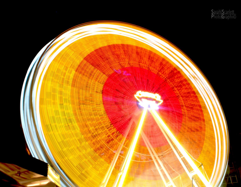Riesenrad im Lichterrausch