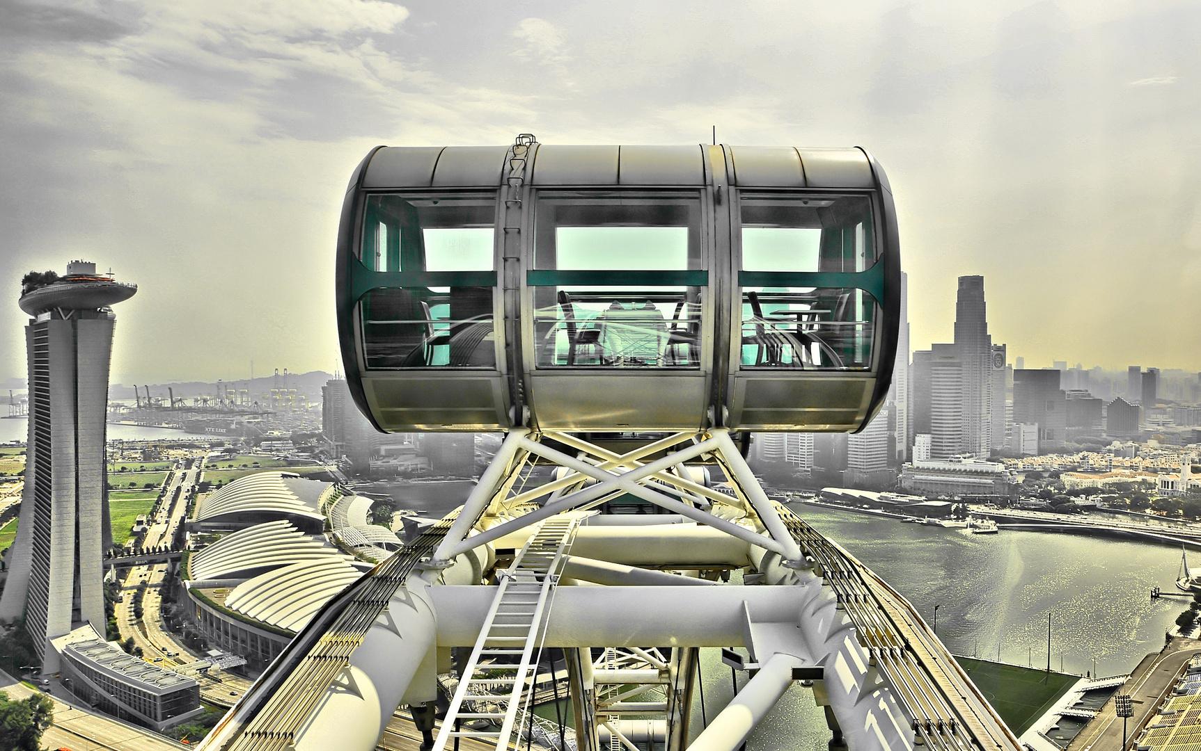 Riesenrad Singapur
