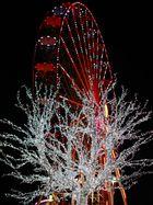Riesenrad und Lichterbaum